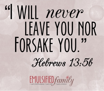 Hebrews 13:5b