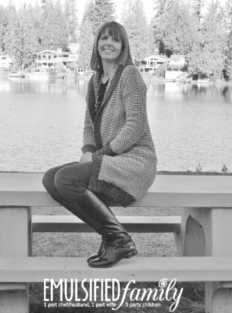 stitch fix black and white sweater - emulsified family