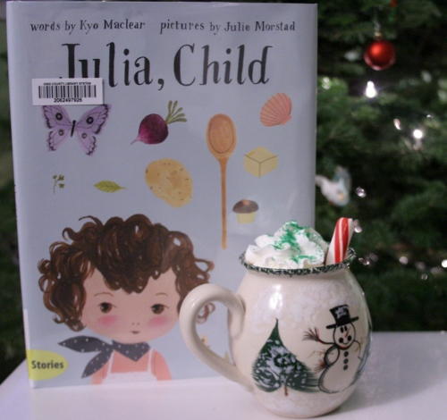 Shhh!  Don't tell my kids I read this and drank this without them!  (Review on this cute book coming soon!)