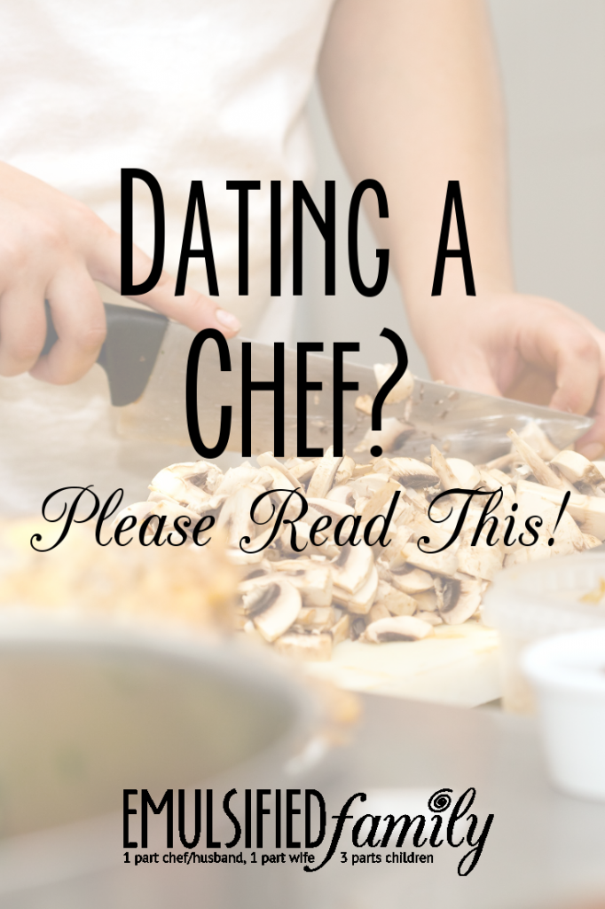 dating a chef