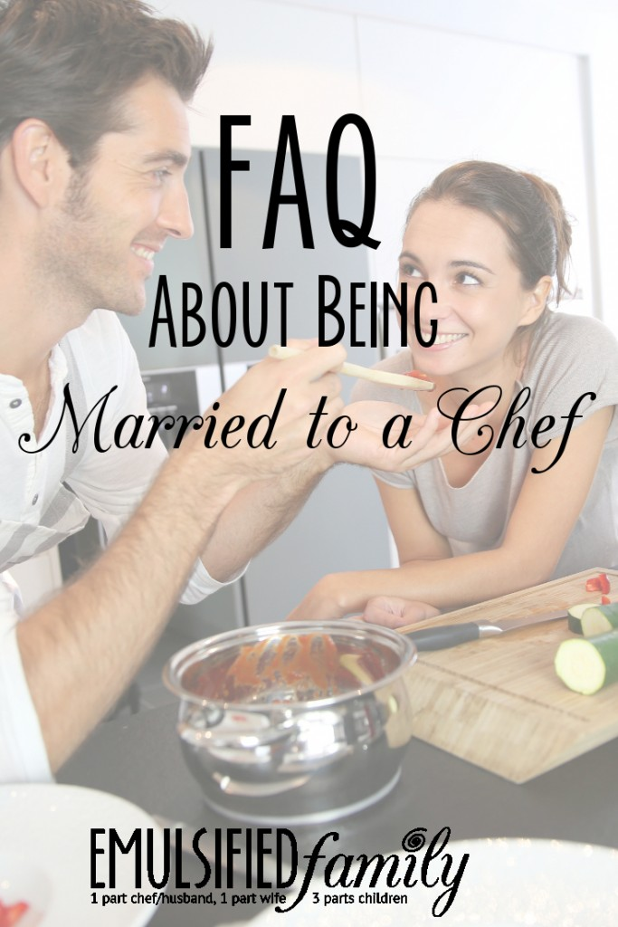 married to a chef