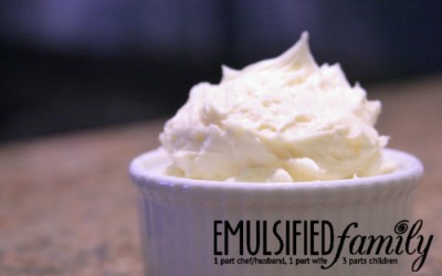 The Best Buttercream Frosting EVER