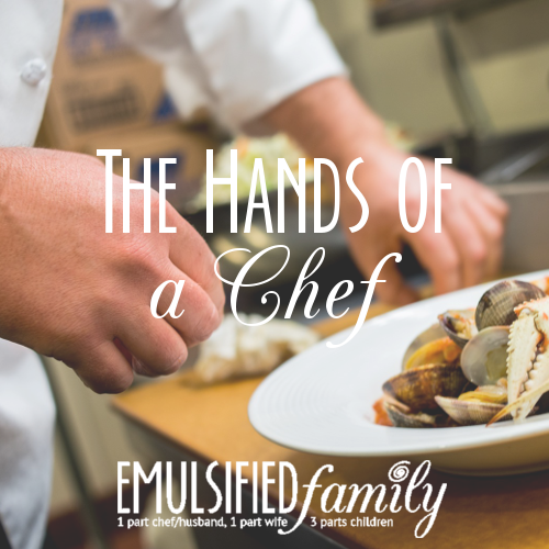 dating a chef blog As is the case with most things, there are good and bad aspects of falling in love with a chef—especially if you're also working in a kitc.