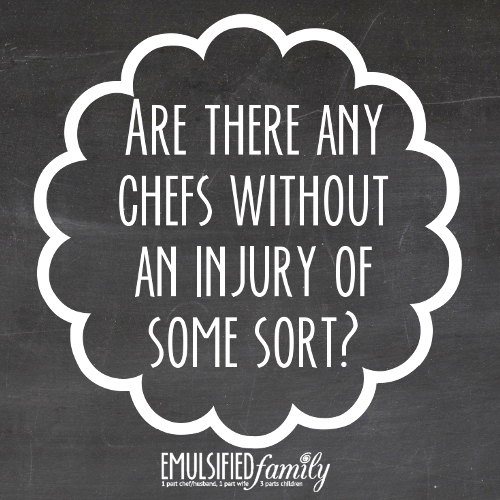 are there any chefs without an injury