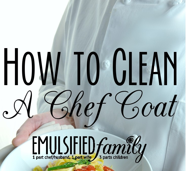 How to Clean a Chef Coat