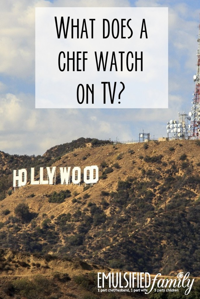 What does a Chef Watch on TV