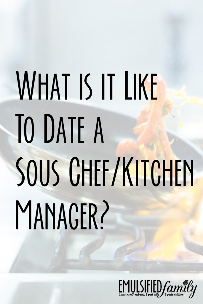 What is it like to date a kitchen manager