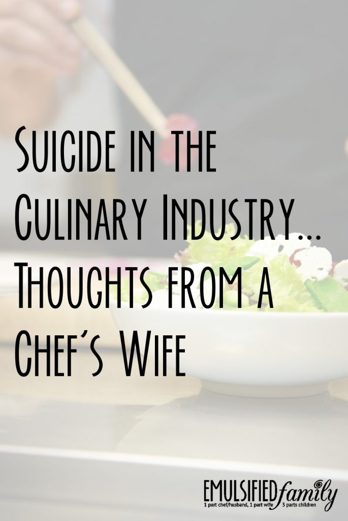 Suicide in the Culinary Industry